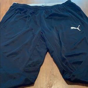 Puma XL Athletic Pants Black